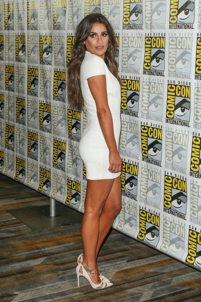 Lea Michele s'est rendue au Comic-Con de San Diego pour présenter sa série Scream Queens
