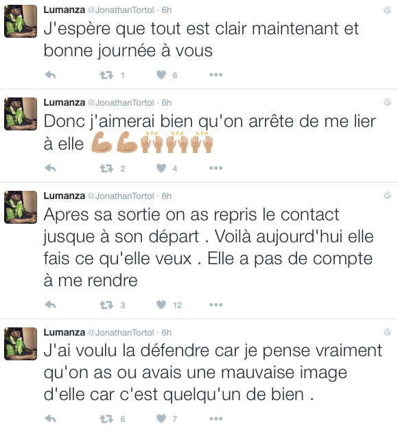 les messages de jonathan sur twitter
