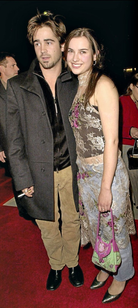 Mariage de Colin Farrell et Amélia Warner : 4 mois