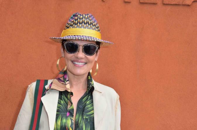 Cristina Cordula : Magnifaïque aux bras de son fils à Roland Garros !