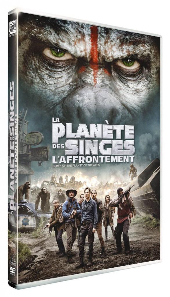 La Planète des singes - L'Affrontement, Fox. 19,99 €.
