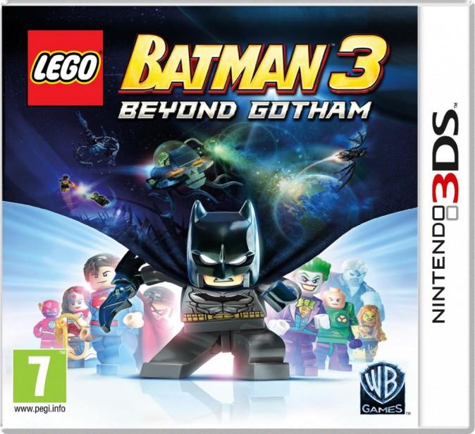 LEGO Batman 3 : Au-delà de Gotham, Nintendo 3DS, Warner. 31 €.