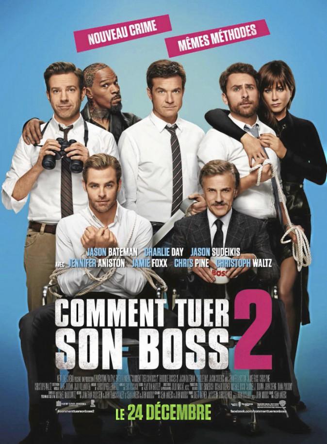 Comment tuer son boss 2, de Sean Anders avec Jason Bateman, Jason Sudeikis et Jennifer Aniston (1h48).