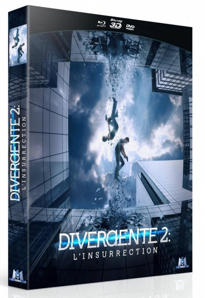 Divergente 2 : l'insurrection, M6. 19,99 €.