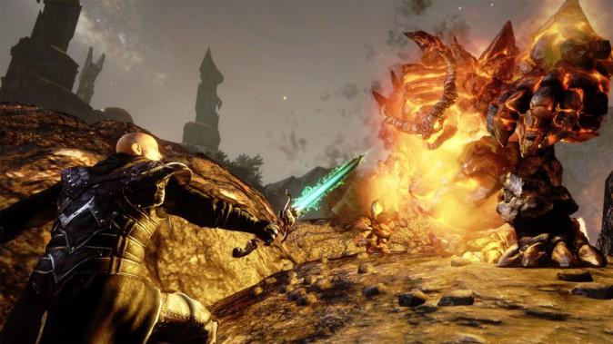 Risen 3 : Titan Lords – Enhanced Edition sur PS4, Koch Media. 39,90 €.