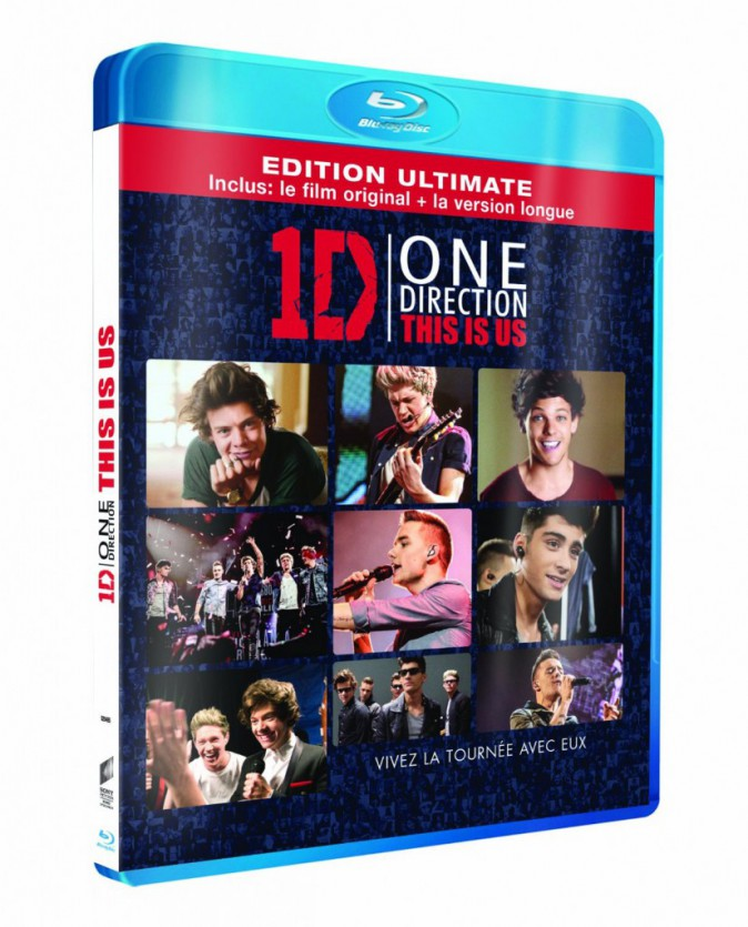 One Direction This is us, Combo Blu-ray version longue Edition Spéciale Fnac, 24,99€
