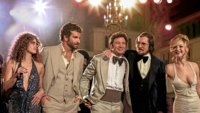 American Bluff de David O'Russell avec Christian Bale et Bradley Cooper (2h18)