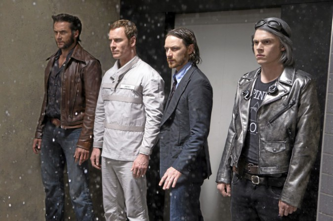 X-Men : Days of Future Past de Bryan Singer avec Hugh Jackman, Michael Fassbender et Jennifer Lawrence (2h10)