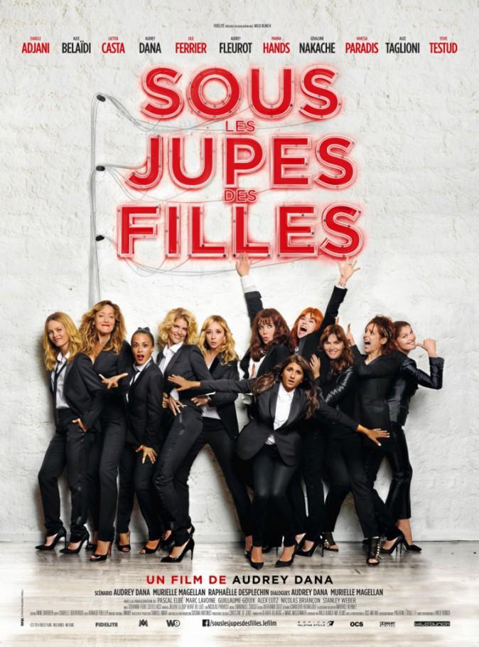 Sous les jupes des flles d'Audrey Dana avec Isabelle Adjani, Alice Belaïdi, Vanessa Paradis et Laetitia Casta (1h58)