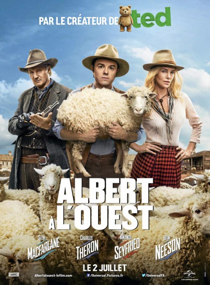 Albert à l'ouest de et avec Seth MacFarlane, Charlize Theron, Liam Neeson et Amanda Seyfried (1h57)