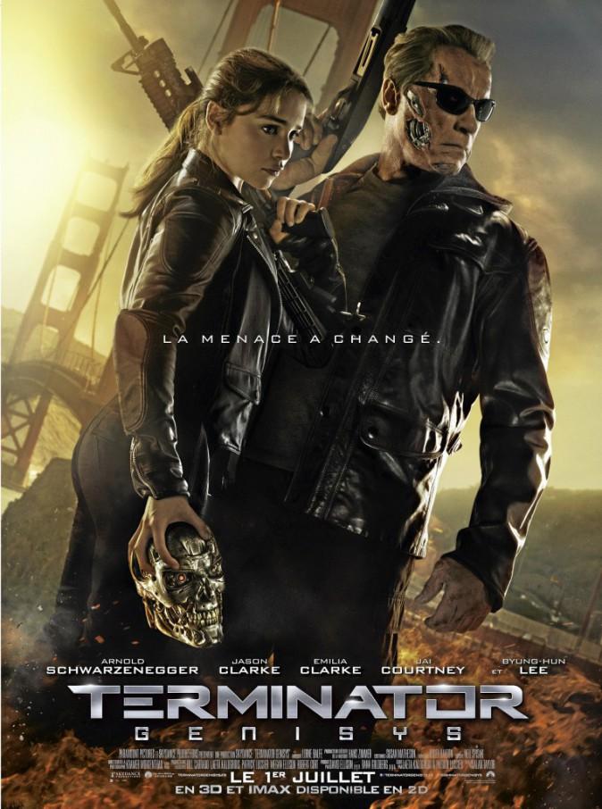 Terminator Genisys, d'Alan Taylor avec Arnold Schwarzenegger et Emilia Clarke (1 h 59).