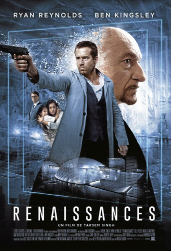 Renaissances, de Tarsem Singh, avec Ryan Reynolds, Ben Kingsley et Natalie Martinez (1 h 56).