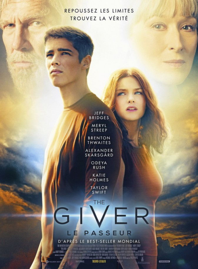 The Giver, de Phillip Noyce avec Jeff Bridges, Meryl Streep et Brenton Twaites (1h37).