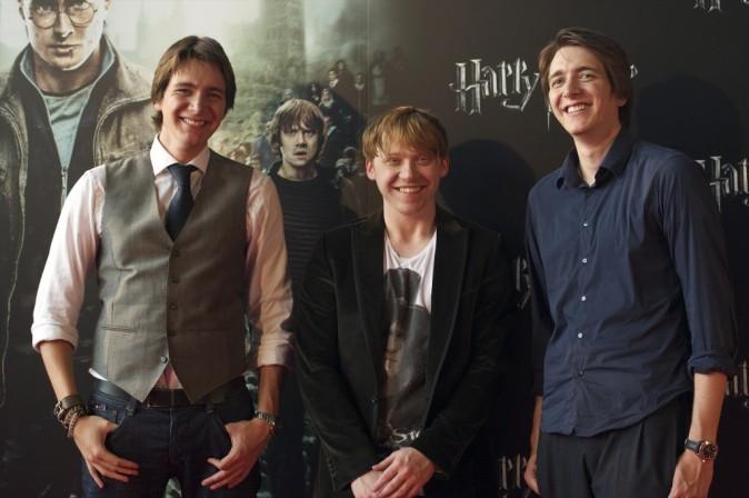 Rupert peut compter sur les jumeaux Phelps pour assurer le show !