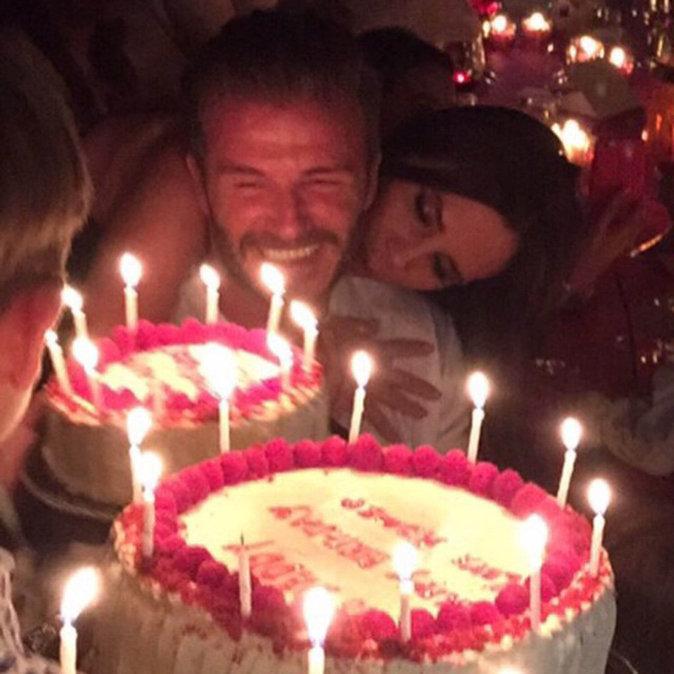 David et Victoria Beckham se déclarent leur flamme pour leurs 17 ans de mariage