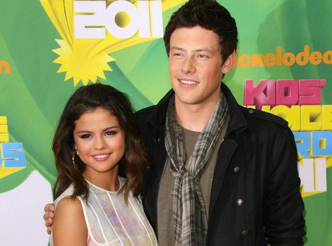 Selena Gomez et Cory Monteith aux Kid's Choice Awards en 2011