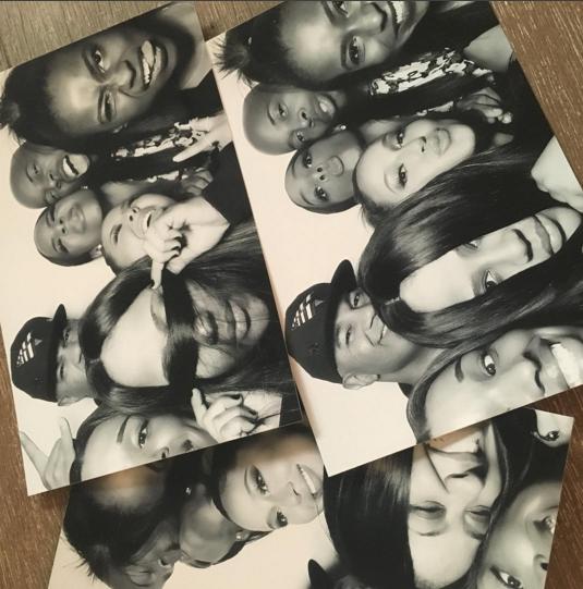 Kelly Rowland a de nombreux amis avec qui fêter son anniversaire