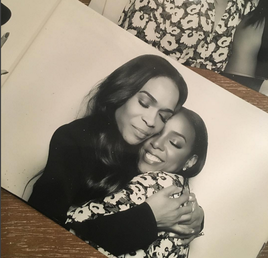 Kelly Rowland et Michelle Williams ont pris la pose ensemble