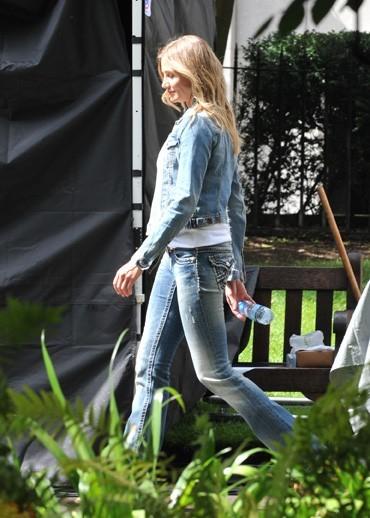 A Londres, elle s'éclate avec Colin Firth...en dehors des plateaux de tournage !