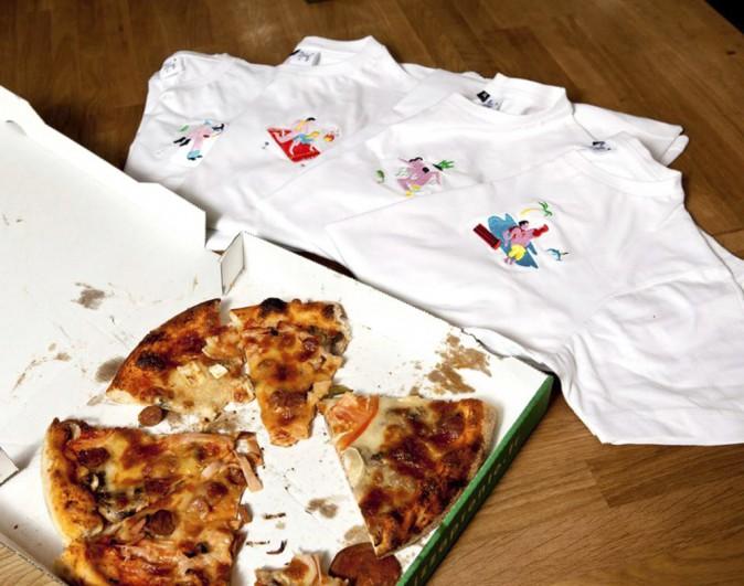 Sexy news : Cuni dieu, ni maître : T-shirt brodé façon Kama-sutra kitch par la marque Carne Bollente, 40€ sur liaison@carnebollente.com