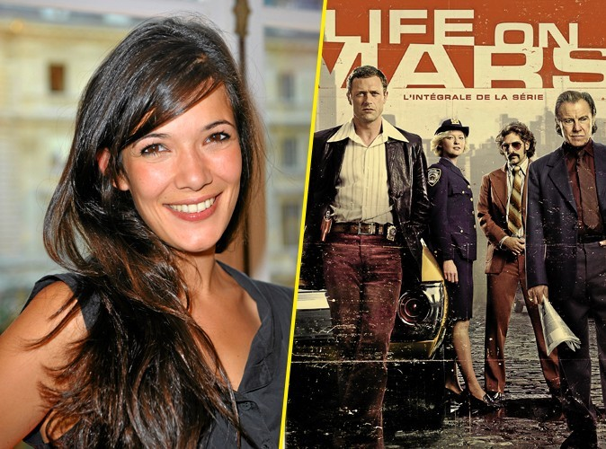 Mélanie Doutey, on lui conseille : Life on Mars, l'intégrale de la série, DVD Fox Pathé Europa. 29,99 €.