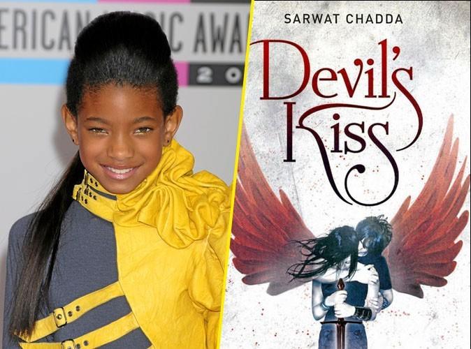 Willow Smith, on lui conseille : Devil's Kiss, Sarwat Chadda,Pocket jeunesse. 16,90 €.