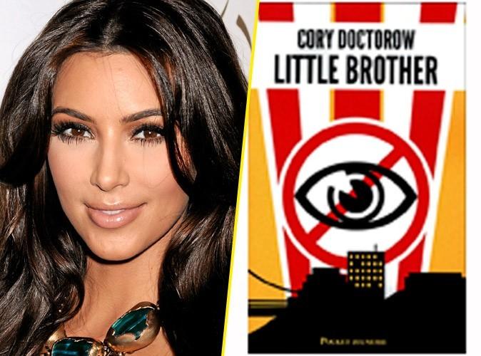 Kim Kardashian, on lui conseille : Little Brother, de Cory Doctorow, Pocket jeunesse. 18,80 €.
