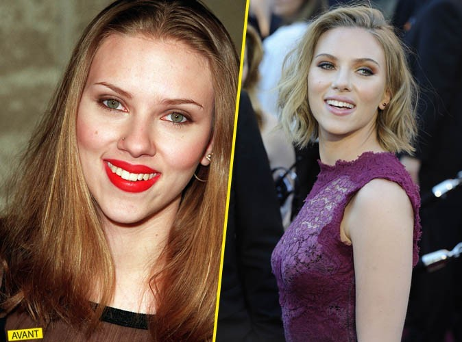 Elles ont bien changé : en mieux ! Scarlett Johansson !