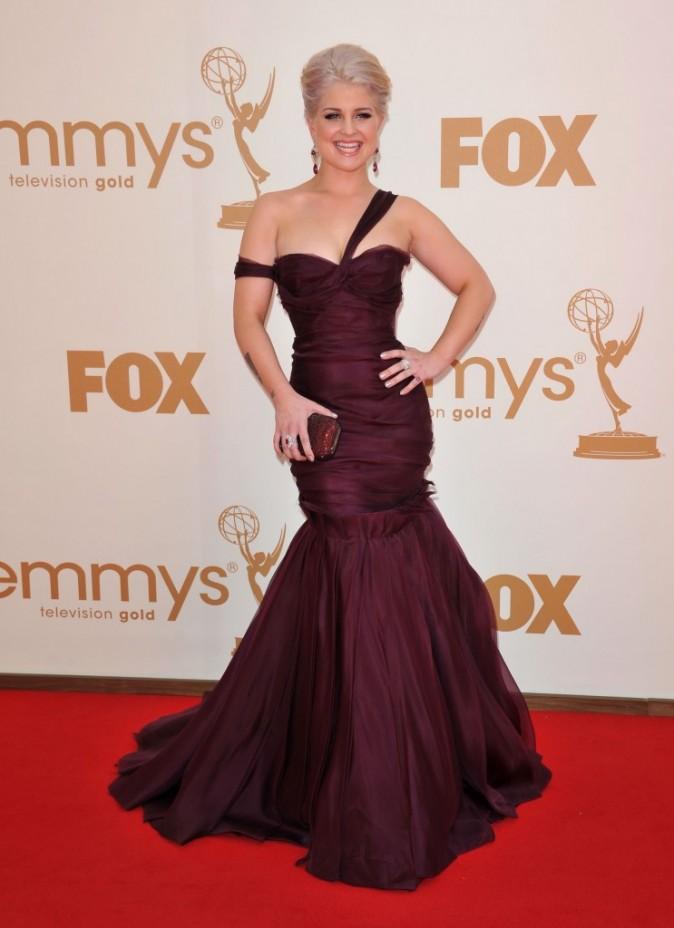 Kelly Osbourne lors de la cérémonie des Emmy Awards 2011, le 18 septembre 2011 à Los Angeles.