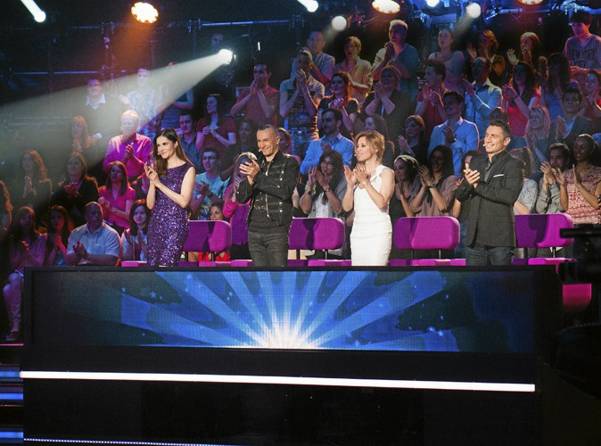 Le jury composé de Lara Fabian, Arturo Brachetti, Alessandra Martines ainsi que l'ex-acrobate Sebastien Stella.