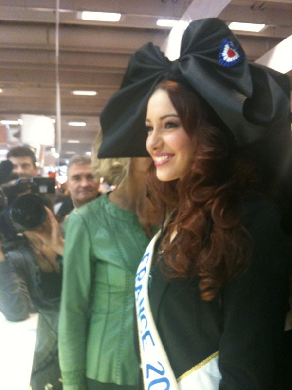 Miss France a sorti sa coiffe alsacienne !