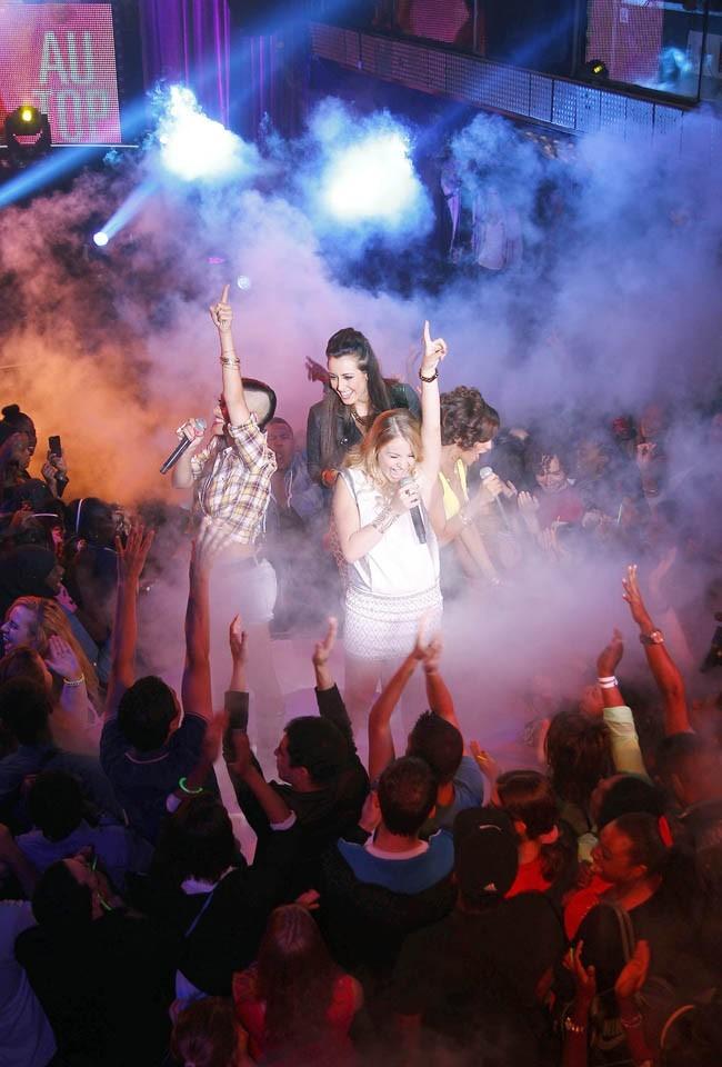 The Mess au VIP Room, à Paris, le 4 juillet 2013