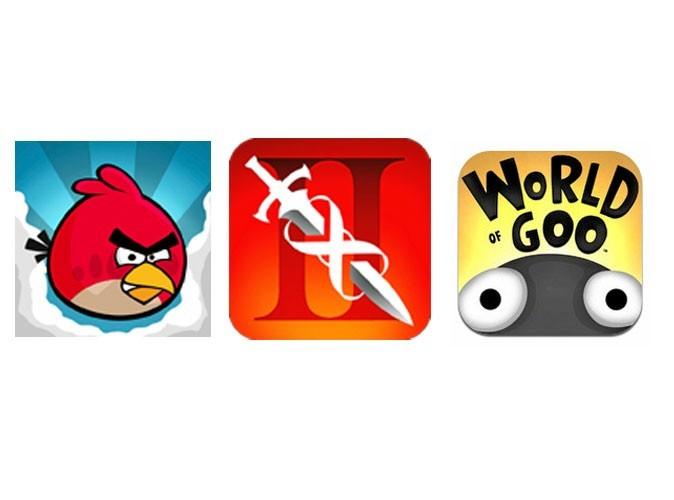 Ses trois jeux vidéo préférés sur iPhone