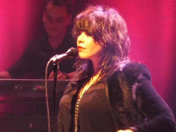 Alex Hepburn en concert à La Cigale, à Paris, le 28 octobre 2013