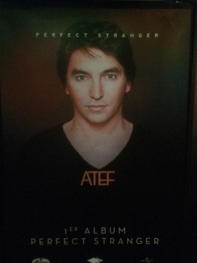 Perfect Stranger, le premier album d'Atef (The Voice 1)