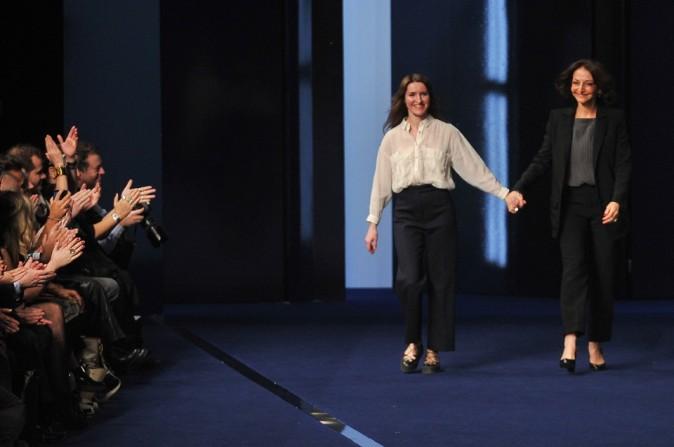 Final: Nathalie Rykiel, présidente de la maison et April Crichton, directrice artistique