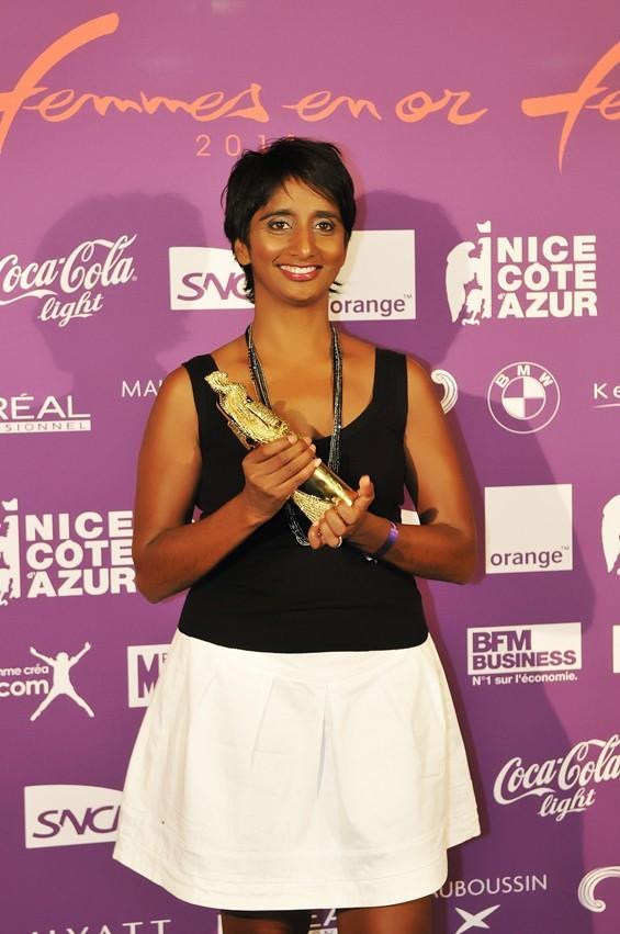 Patricia Loison, la présentatrice a été récompensée !