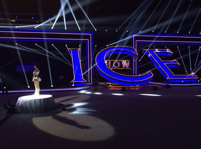 Découvrez la nouvelle photo exclusive du plateau d'Ice Show !