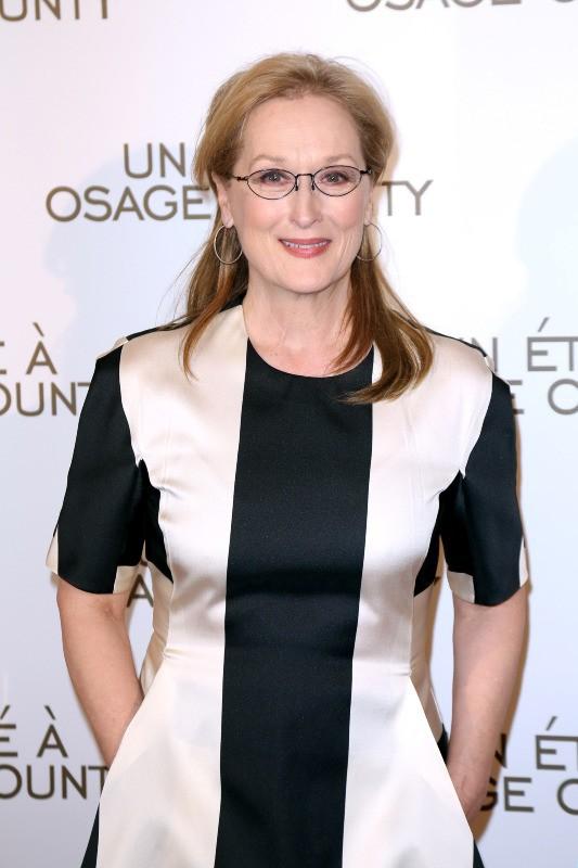 Meryl Streep à l'avant-première parisienne d'Un été à Osage County !