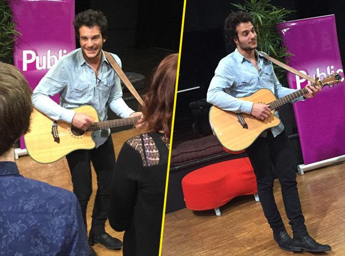 Exclu Public : Photos : Amir au top pour un showcase intimiste et r�ussi !