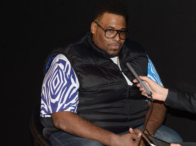 Big Ali en pleine interview au Grimaldi Forum à Monte Carlo à l'occasion du salon du MICS, le 6 novembre 2013.