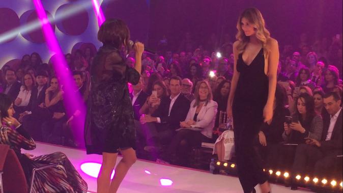 Jenifer et Camille Cerf lors de la 8e édition du Casa Fashion Show