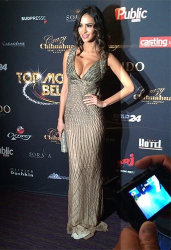 Exclu Public : Photos : Leila (SS8) : marraine absolument renversante du Top Model Belgium 2014 !