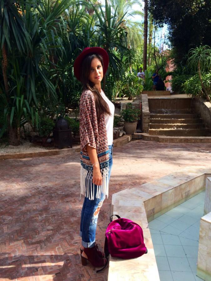 Exclu Public : Photos : Malika Ménard : escapade stylée et petites confidences à Marrakech !