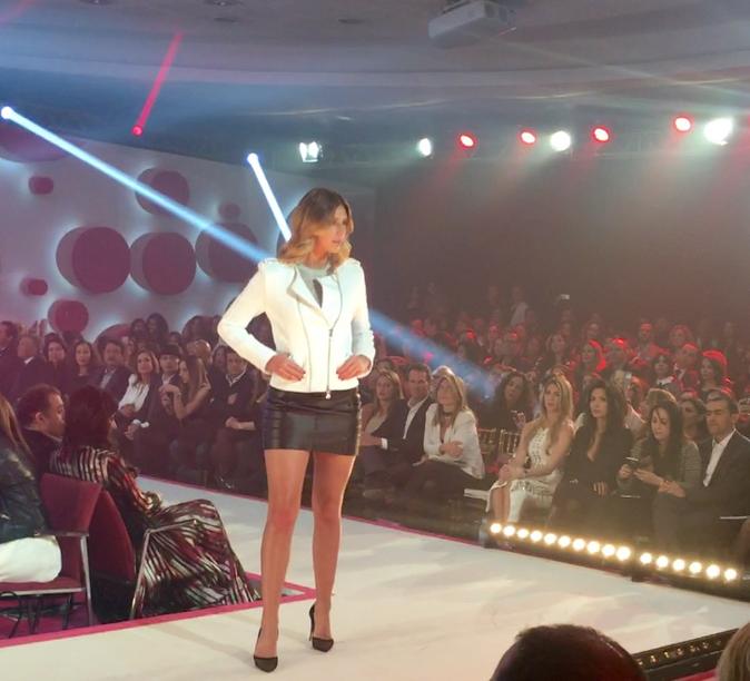 Camille Cerf lors de la 8e édition du Casa Fashion Show