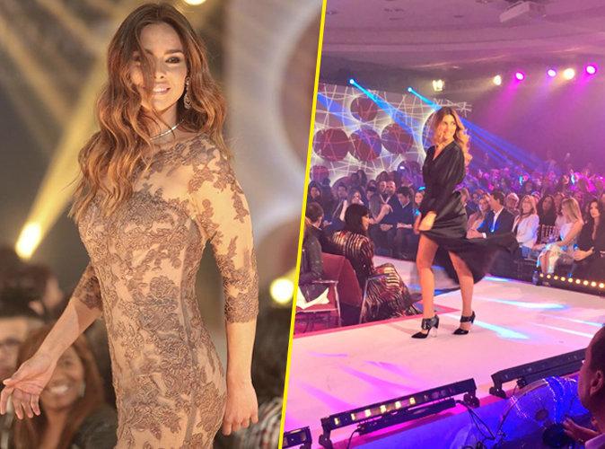 Marine Lorphelin et Camille Cerf lors de la 8e édition du Casa Fashion Show