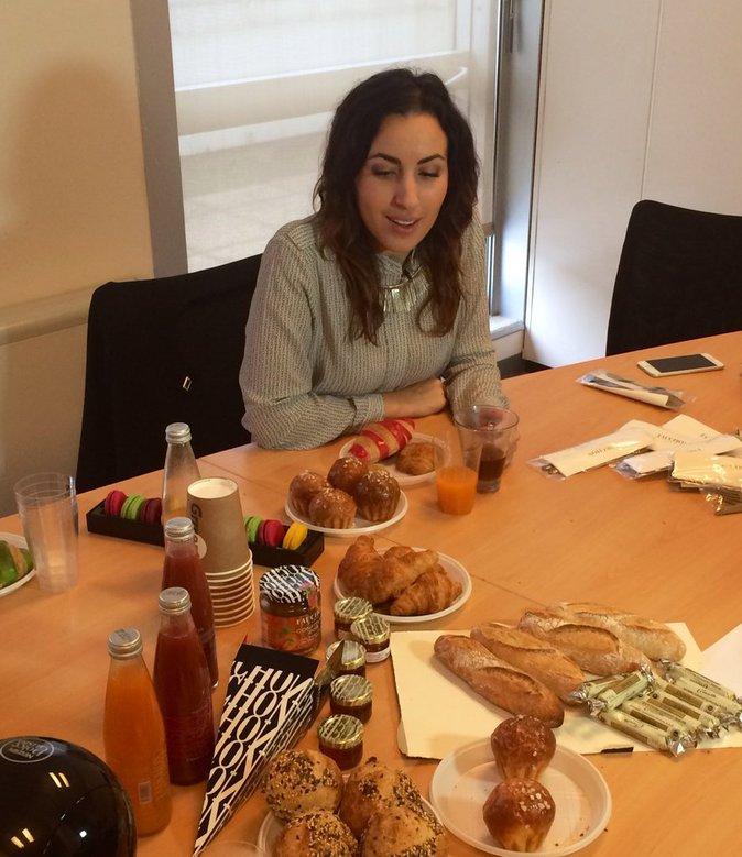 Exclu Public : Photos : Maude : gourmandises et confidences à la rédac' !