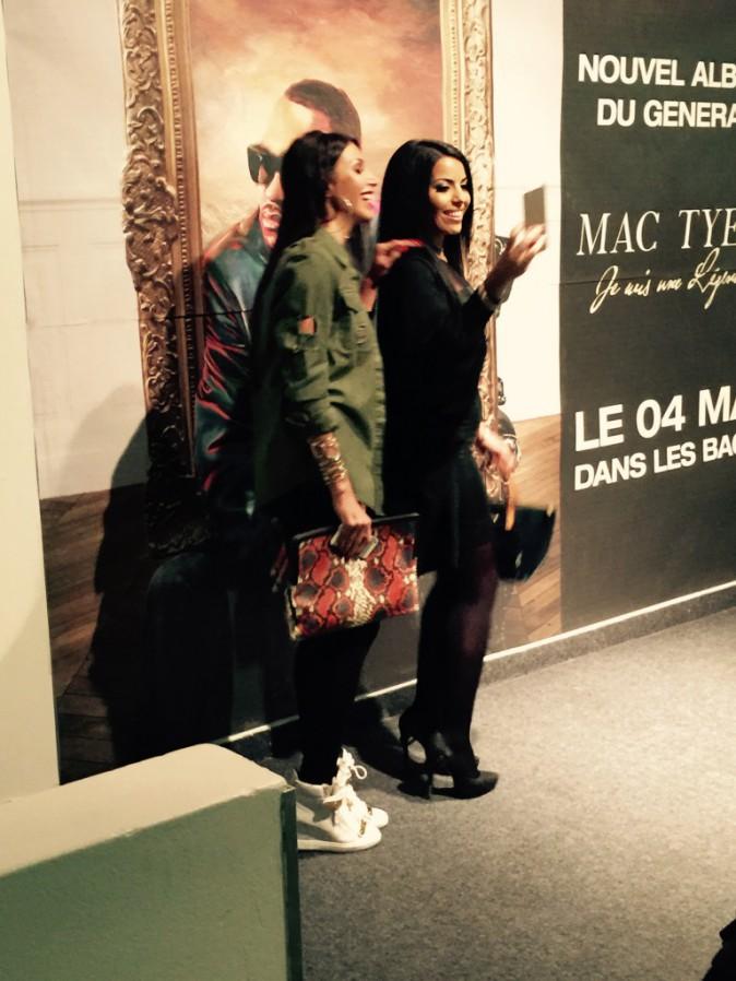 Exclu Public : Photos : Somayeh et Siham Bengoua : les bombes sont de sortie pour Mac Tyer !