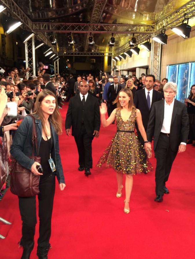 Natalie Portman pour l'avant-première de Thor à Paris le 23 octobre 2013