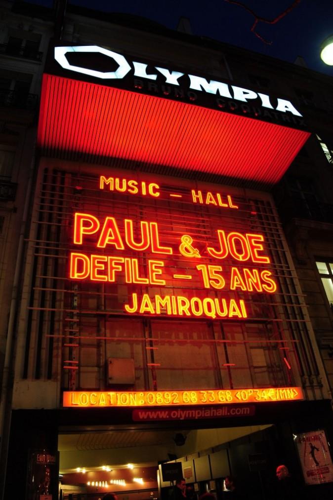 Paul & Joe investit l'Olympia